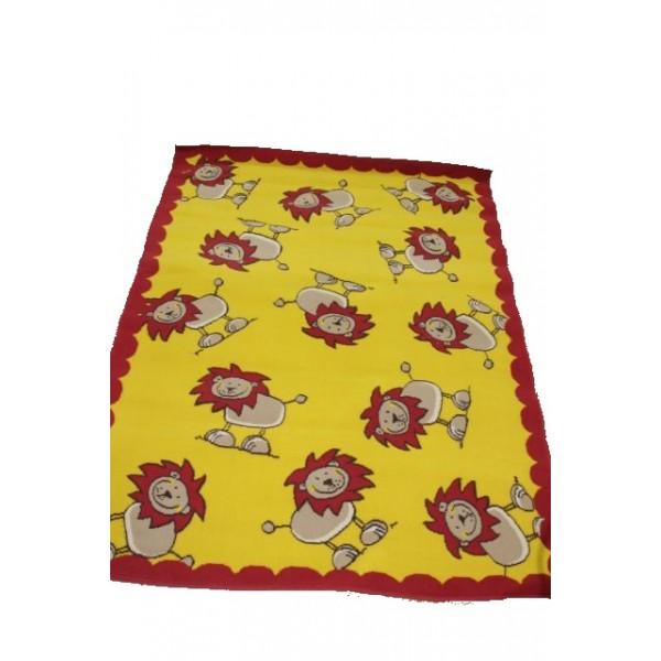 Geel-en-rood-met-leeuwtjes-600×600