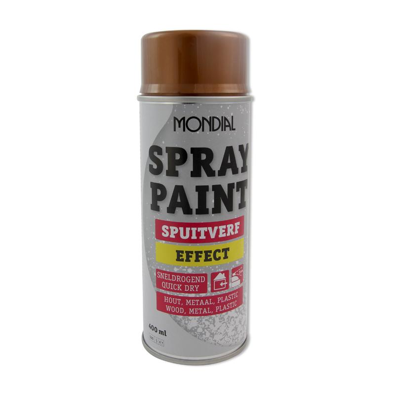 Spuitbus verf Mondial Spray Paint Antiek Goud