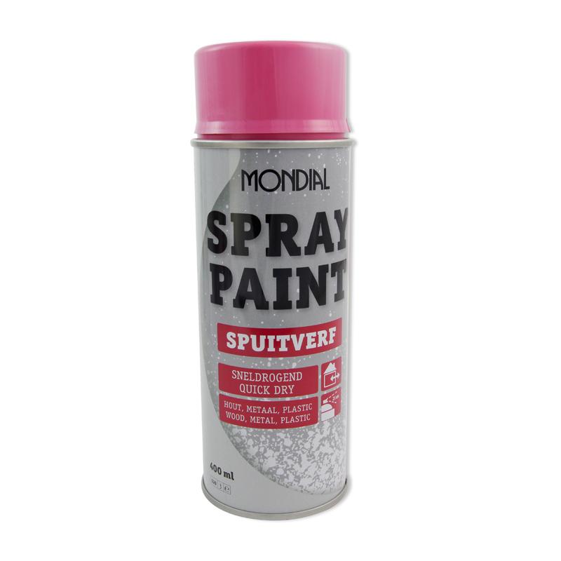 Spuitbus verf Mondial Spray Paint Ral 4003